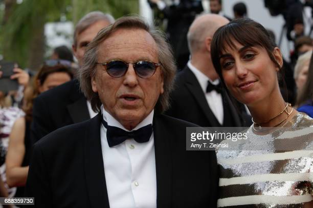 Alexandre Arcardi and guest attends the 'Twin Peaks' screening during the 70th annual Cannes Film Festival at Palais des Festivals on May 25 2017 in...