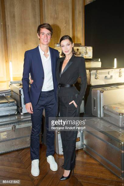 Alexandre Arnault and Bella Hadid attend dinner hosted by Rimowa Alexandre Arnault to celebrate the 80th Anniversary of Rimowa's iconic aluminium...