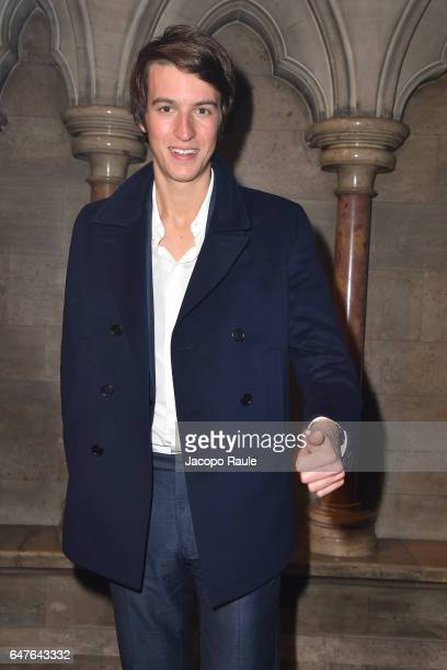 Alexandre Arnault attends 'A Better High' Party as part of the Paris Fashion Week Womenswear Fall/Winter 2017/2018 at American Cathedral Of Paris on...