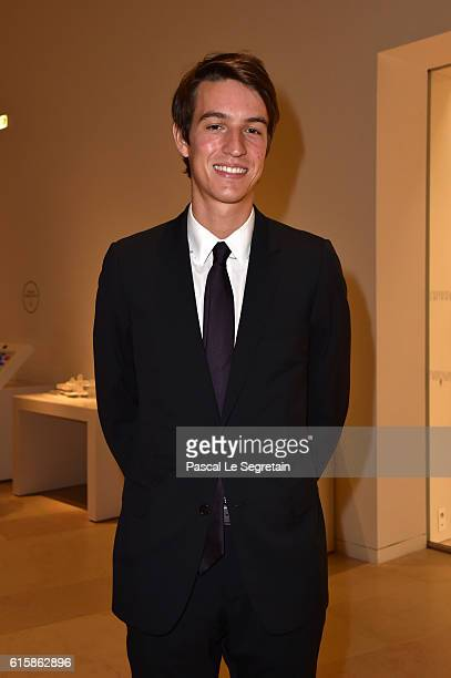 Alexandre Arnault attends a Cocktail for the opening of 'Icones de l'Art Moderne La Collection Chtchoukine'at Fondation Louis Vuitton on October 20...
