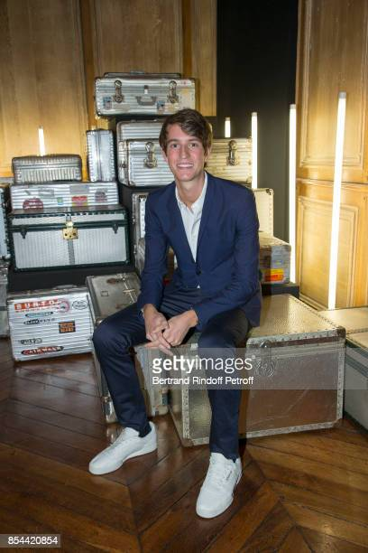 Alexandre Arnault attends dinner hosted by Rimowa Alexandre Arnault to celebrate the 80th Anniversary of Rimowa's iconic aluminium suitcase at...