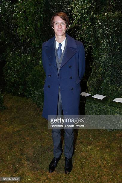 Alexandre Arnault attends the Christian Dior Haute Couture Spring Summer 2017 show as part of Paris Fashion Week on January 23 2017 in Paris France