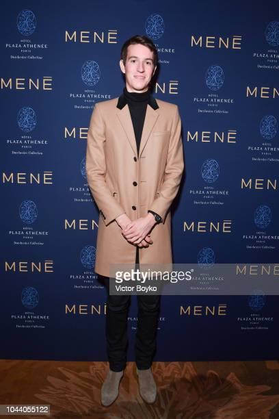 Alexandre Arnault attends the Mene Cocktail as part of the Paris Fashion Week Womenswear Spring/Summer 2019 at Hotel Plaza Athenee on September 30...