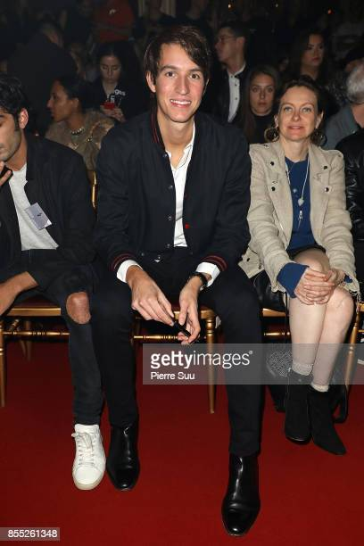 Alexandre Arnault attends the Off/White show as part of the Paris Fashion Week Womenswear Spring/Summer 2018 on September 28 2017 in Paris France