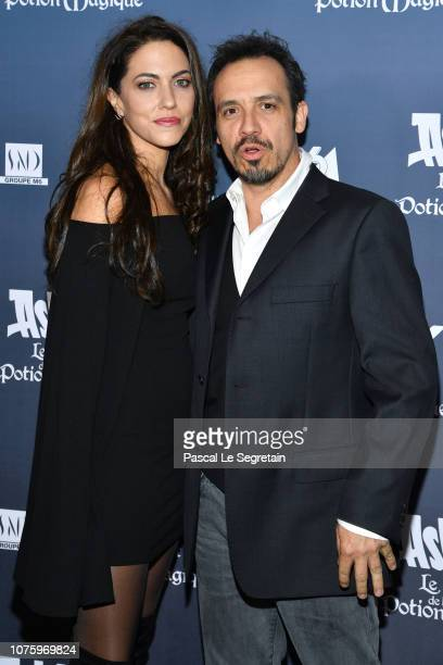 Alexandre Astier and Luna Karys attend 'Asterix Le Secret de la Potion Magique' Paris Premiere at Cinema UGC Normandie on December 02 2018 in Paris...