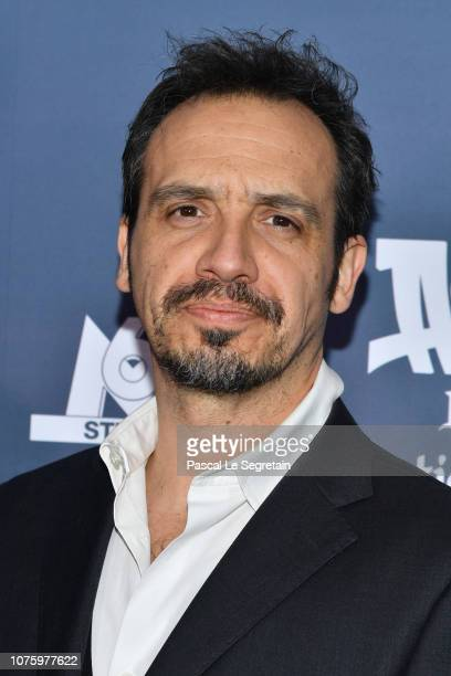 Alexandre Astier attends 'Asterix Le Secret de la Potion Magique' Paris Premiere at Cinema UGC Normandie on December 02 2018 in Paris France