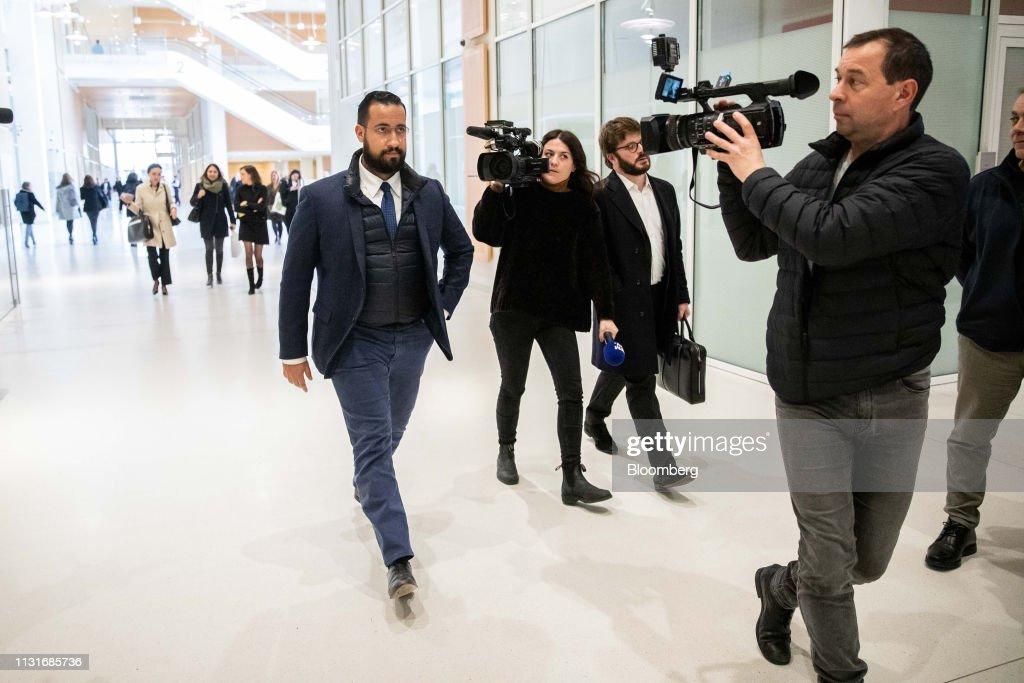 FRA: President Emmanuel Macron's Former Bodyguard Faces Investigative Questioning