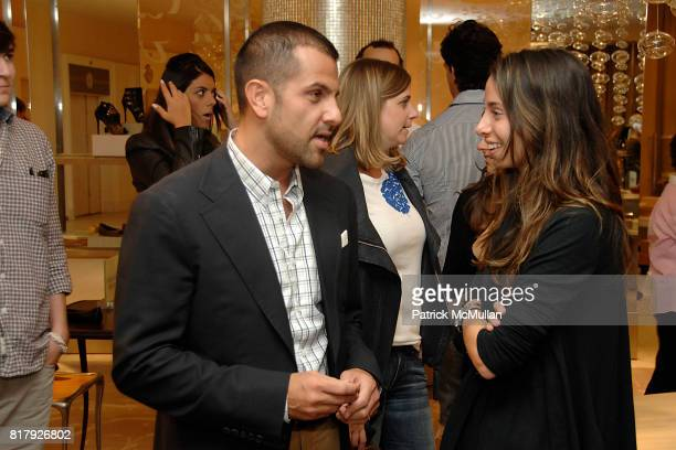 Alexandre Birman and Rebecca Weisberg attend Saks Fifth Avenue ALEXANDRE BIRMAN Personal Appearance at Saks Fifth Avenue on September 11 2010 in New...