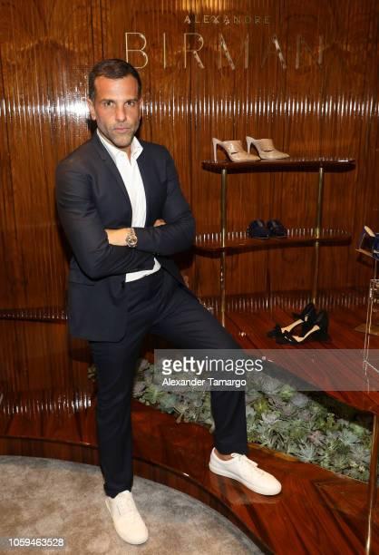 Alexandre Birman is seen at the Alexandre Birman Bal Harbor Store Opening Event on November 8 2018 in Miami Florida