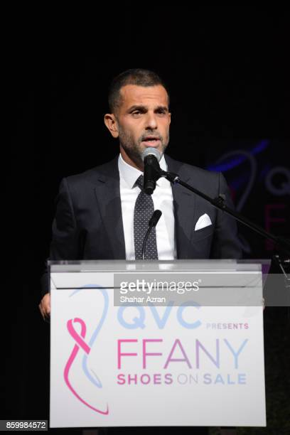 Alexandre Birman speaks onstage during 2017 FFANY Shoes On Sale Gala on October 10 2017 in New York City