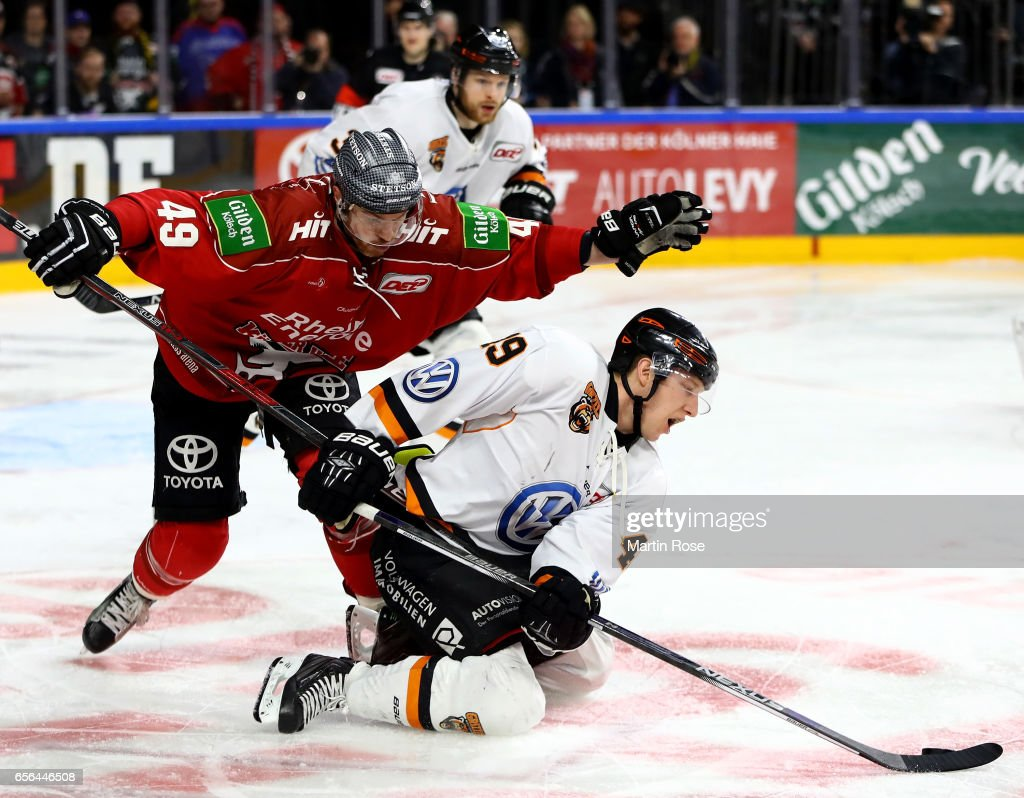 Koelner Haie v Grizzlys Wolfsburg - DEL Playoffs Quarter Final Game 7
