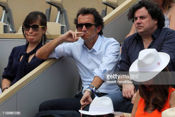 Alexandre Bompard attend the 2019 French Tennis Open Day Ten at Roland Garros on June 04 2019 in Paris France