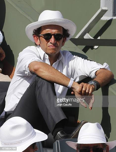 Alexandre Bompard attends day 11 of the French Open 2015 at Roland Garros stadium on June 3 2015 in Paris France