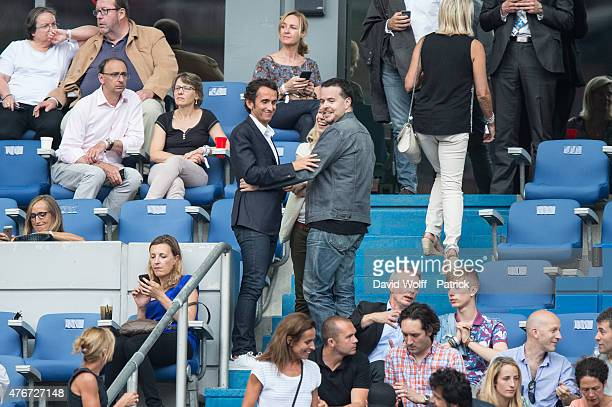 Alexandre Bompard attends Paul McCartney Show at Stade de France on June 11 2015 in Paris France