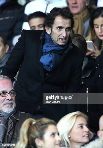 Alexandre Bompard attends the French Ligue 1 match between Paris Saint Germain and OGC Nice at Parc des Princes stadium on December 11 2016 in Paris...