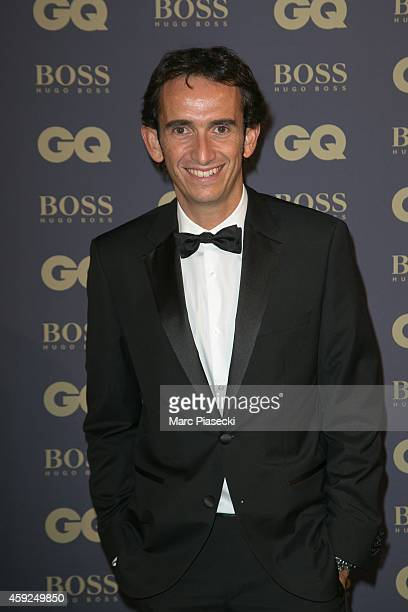 Alexandre Bompard attends the 'GQ Men of the Year 2014' photocall at Musee d'Orsay on November 19 2014 in Paris France