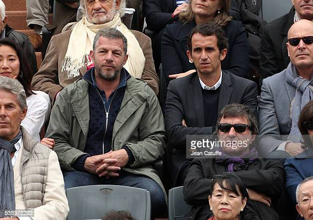 Alexandre Bompard attends the Men's Singles final between Novak Djokovic of Serbia and Andy Murray of Great Britain on day fifteen of the 2016 French...
