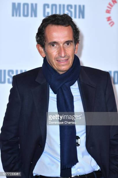 Alexandre Bompard attends the Mon Cousin premiere at Le Grand Rex on September 28 2020 in Paris France