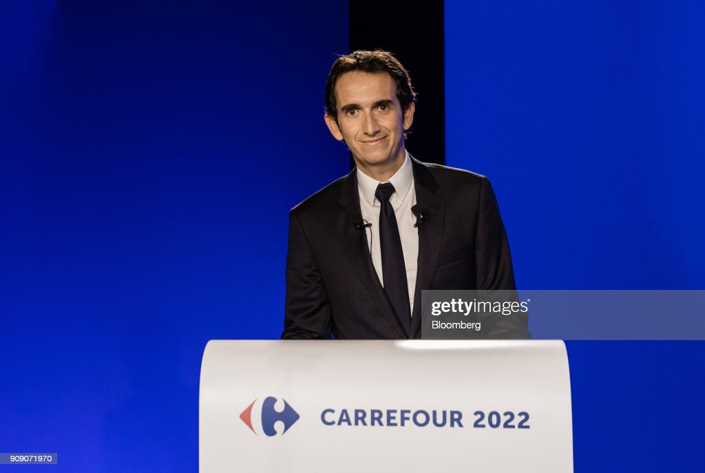 Carrefour SA CEO Alexandre Bompard Announces Job Cuts And $3.4 Billion Investment