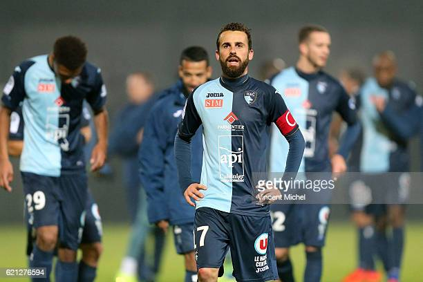 Alexandre Bonnet of Le Havre during the Ligue 2 match between Stade Lavallois and Le Havre AC on November 4 2016 in Laval France