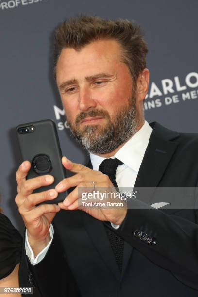 Alexandre Brasseur attends the opening ceremony of the 58th Monte Carlo TV Festival on June 15 2018 in MonteCarlo Monaco