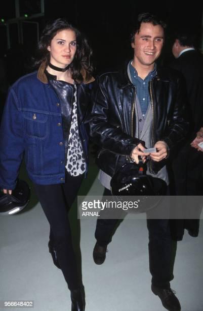 Alexandre Brasseur et une amie à Paris en mars 1993 France