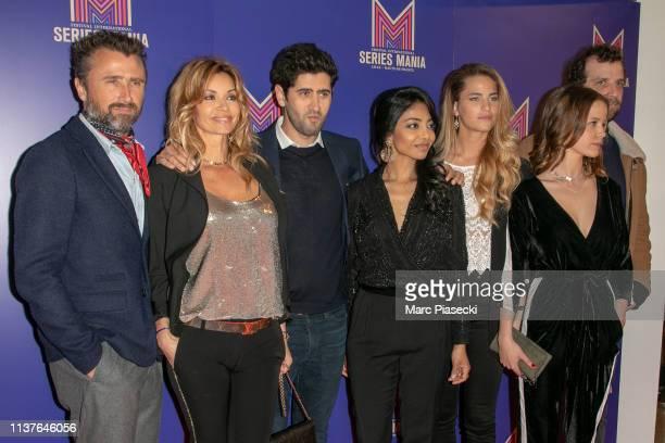Alexandre Brasseur Ingrid Chauvin Mayel Elhajaoui Rani Bheemuck Solene Hebert Marysole Fertard and Mathieu Alexandre attends the 2nd Series Mania...