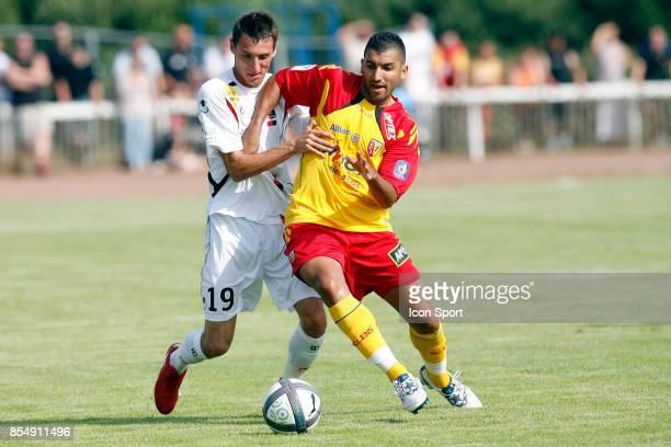 Alexandre Cuvillier / Adil Hermach Lens / Boulogne Match Amical Pre Saison 2010/2011 Berck