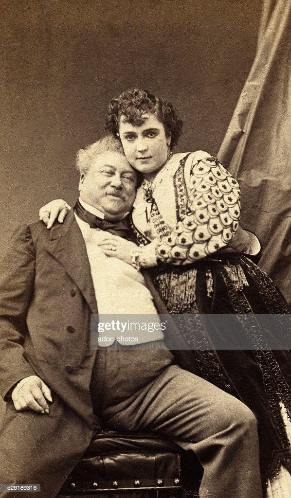 Alexandre Dumas and Adah Isaacs Menken : News Photo