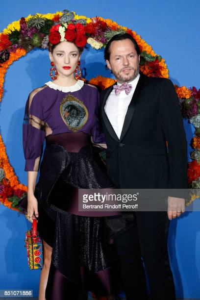 Alexandre de Betak and his wife Sofia Sanchez de Betak attend the Opening Season Gala Ballet of Opera National de Paris Held at Opera Garnier on...