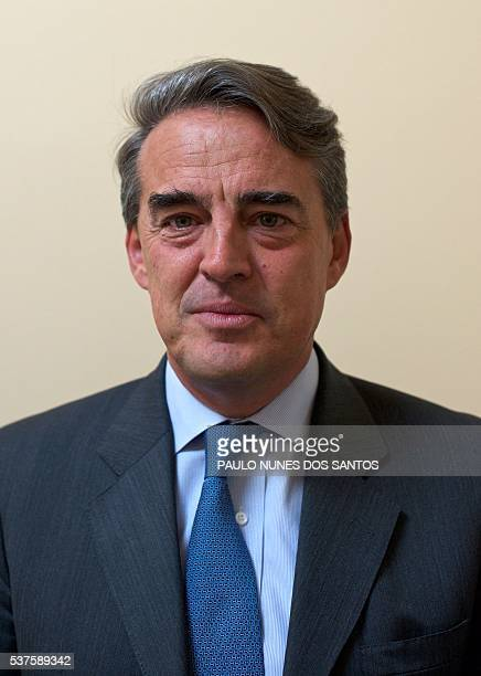 Alexandre de Juniac, former CEO of Air France-KLM poses at the International Air Transport Association's annual general meeting in Dublin, Ireland on...