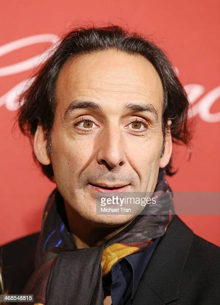 Alexandre Desplat arrives at The Hollywood Reporter's Annual Nominees Night party held at Spago on February 10 2014 in Beverly Hills California