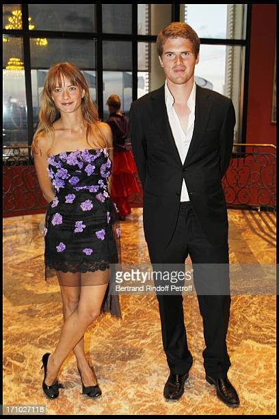 Alexandre Desseigne and Pauline at Deauville Ball In Benefit Of Care France