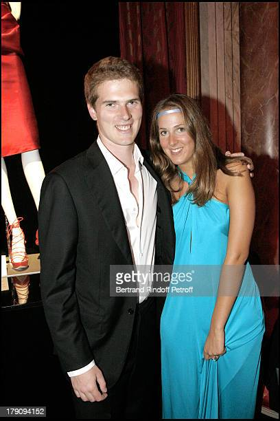 "Alexandre Desseigne and sister Joy at 12th Annual ""Grand Bal De Deauville"" Organised By Christian Dior And Lucien Barriere."