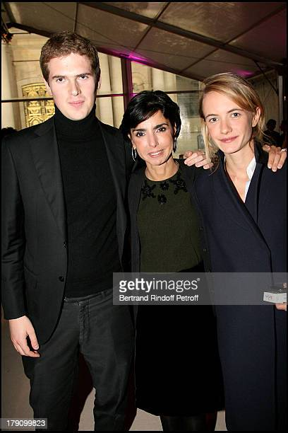 Alexandre Desseigne Rachida Dati and Pauline Blassel at Dinner Gala For The Hospital Of Paris Foundation Organised By The Association C'est A Vous...