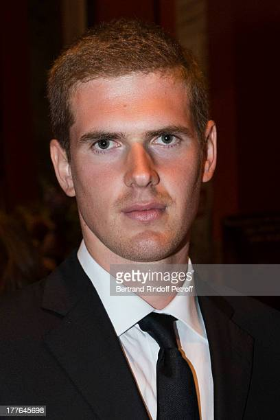 Alexandre Desseigne the son of President of Barriere Group Dominique Desseigne attends the Grand Bal Care in Deauville on August 24 2013 in Deauville...