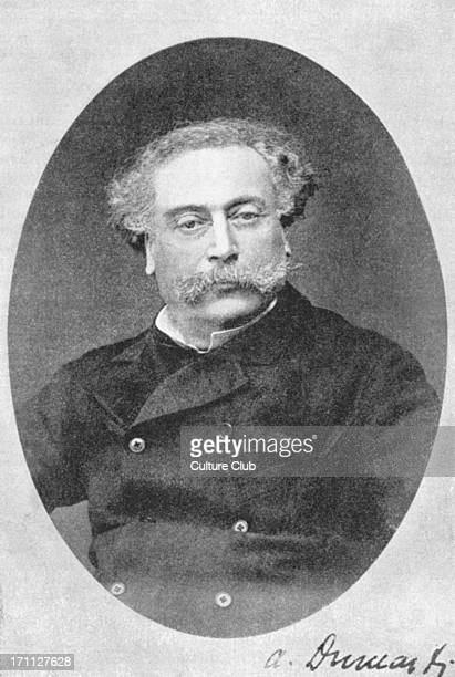 Alexandre Dumas fils portrait of the French author and playwright 27 July 1824 27 November 1895