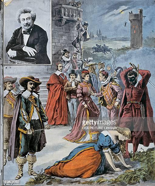 Alexandre Dumas most famous novels Engraving 1902 Paris Hôtel Carnavalet
