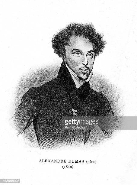 Alexandre Dumas the Elder French novelist and playwright 1840 Dumas was the author of popular historical adventure classics including The Man in the...