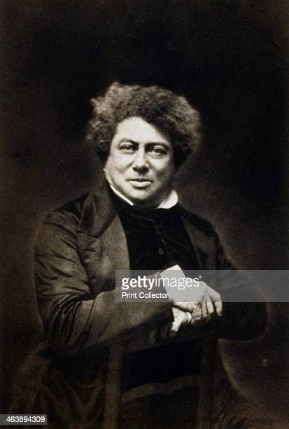Alexandre Dumas the Elder French novelist and playwright c18401860 Dumas was the author of popular historical adventure classics including The Man in...