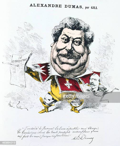 Alexandre Dumas the Elder French novelist and playwright c18601885 Dumas was the author of popular historical adventure classics including The Man in...
