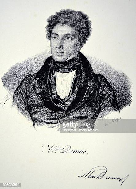 Alexandre Dumas the elder French playwright and novelist Photo by