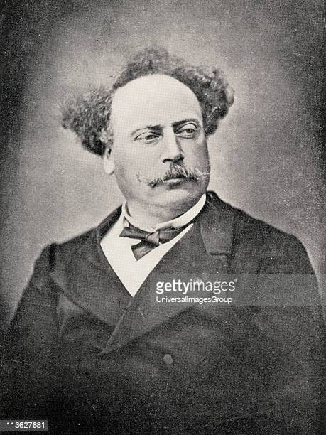 Alexandre Dumas The Younger18241895 French author son of Dumas From the book 'The International Library of Famous Literature'Published in London 1900...