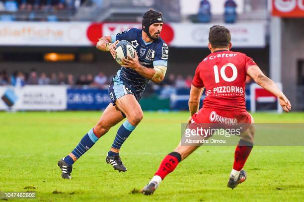 Alexandre Dumoulin of Montpellier during the Top 14 match between Montpellier and Toulon at Altrad Stadium on October 7 2018 in Montpellier France
