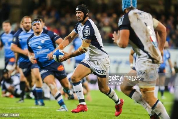 Alexandre Dumoulin of Montpellier during the Top 14 match between Castres and Montpellier on September 9 2017 in Castres France