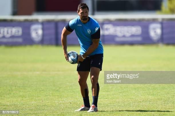Alexandre DUmoulin of Montpellier during the training session of Montpellier on July 25 2017 in Montpellier France
