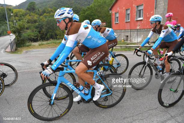Alexandre Geniez of France and Team AG2R La Mondiale / during the 101th Giro Dell'Emilia 2018 a 2074km race from Casalecchio di RenoBologna to San...