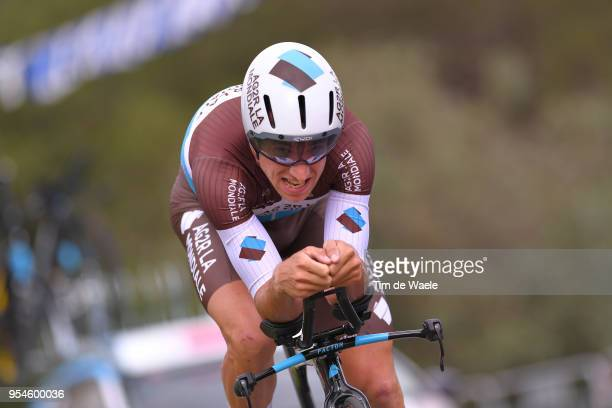 Alexandre Geniez of France and Team AG2R La Mondiale / during the 101th Tour of Italy 2018 Stage 1 a 97km Individual Time Trial from Jerusalem to...