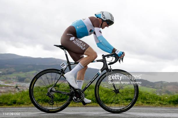 Alexandre Geniez of France and Team AG2R La Mondiale / during the 59th ItzuliaVuelta Ciclista Pais Vasco 2019 Stage 1 a 112km Individual Time Trial...