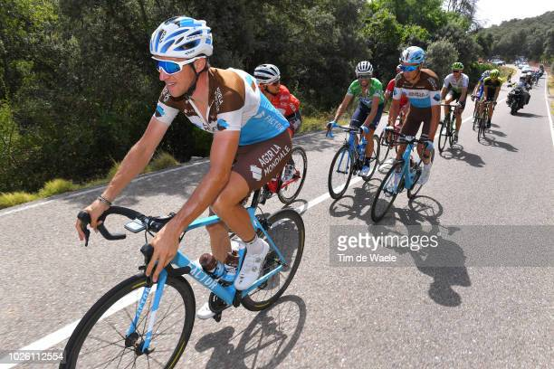 Alexandre Geniez of France and Team AG2R La Mondiale / during the 73rd Tour of Spain 2018, Stage 9 a 200,8km stage from Talavera de la Reina to Alto...